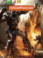 Transformer tema screenshot