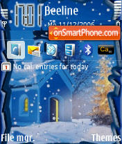 Christmas Tree 2 theme screenshot