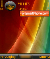 Colourful tema screenshot