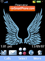 Wings tema screenshot
