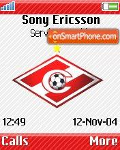 Spartak Moscow theme screenshot