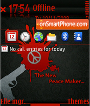 The New Peace Maker Fp1 Touch Icons theme screenshot