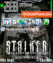 Скриншот темы Stalker Cop2