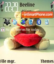 Teddy Bear 02 theme screenshot