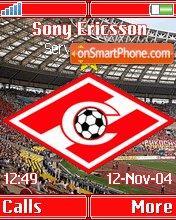 FC Spartak Moscow K750 es el tema de pantalla