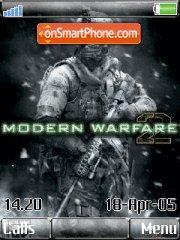 Call of Duty Moder Warfare 2 theme screenshot
