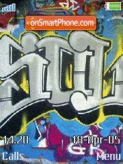 Graffiti es el tema de pantalla
