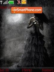 Скриншот темы Gothic Girls