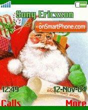 Santa klaus go to you es el tema de pantalla