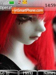Gothic Dolls theme screenshot