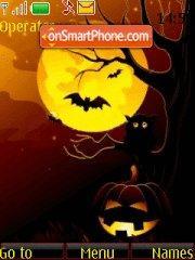 Скриншот темы Halloween Dark