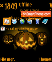 Happy Halloween 05 theme screenshot