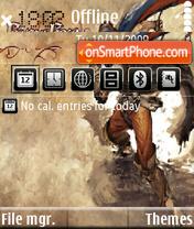Prince of percia theme screenshot