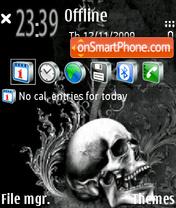 Fear V2 theme screenshot