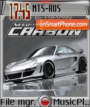 NFS Carbon V2 es el tema de pantalla