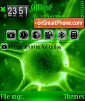 Virus 3 tema screenshot