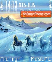 Ice Horses es el tema de pantalla