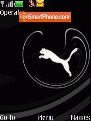 Скриншот темы Puma