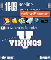 Vikings theme screenshot