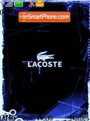 Lacoste Blue theme screenshot