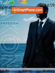 Akon Beautiful tema screenshot