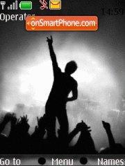 Rock Concert es el tema de pantalla