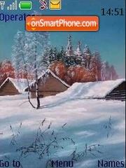 Winter3 theme screenshot