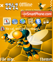 Not Beeline 02 theme screenshot