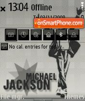 Скриншот темы Michael Jackson 17