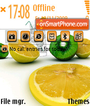 Citrus2 theme screenshot