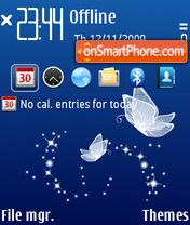 Butterfly 7 theme screenshot
