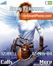 Angel With Sword theme screenshot