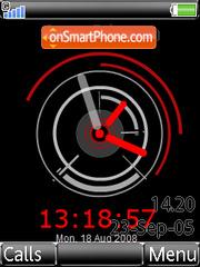 Revolution Black Clock es el tema de pantalla