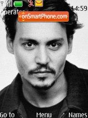 Johnny Depp theme screenshot