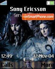 Pirates of Caribbean es el tema de pantalla