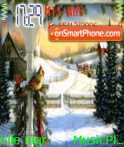 Christmas Town theme screenshot