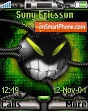 Evil Smile theme screenshot