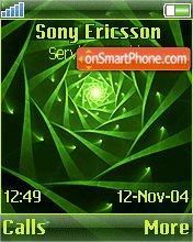 Green Spiral es el tema de pantalla