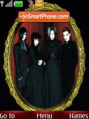 Malice Mizer theme screenshot