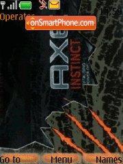 Capture d'écran Axe-instinct thème