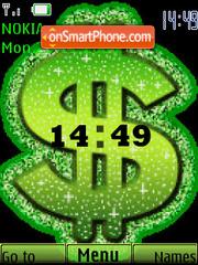 Money SWF es el tema de pantalla