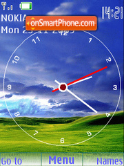 Windows XP SWF theme screenshot