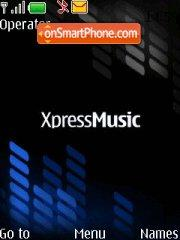 Xpress Music theme screenshot