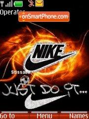 Nike Just Do it es el tema de pantalla