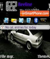 BMW 3 Series theme screenshot
