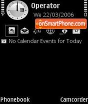 Скриншот темы Black