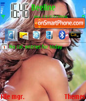 Carmen Electra 2 theme screenshot