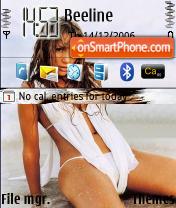Скриншот темы Jennifer Lopez