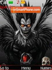 Скриншот темы Death Note 666