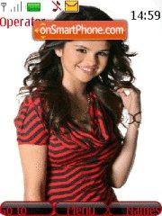 Скриншот темы Selena Gomez2